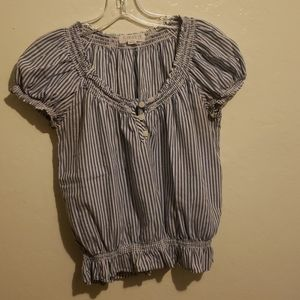 Forever 21 striped blouse